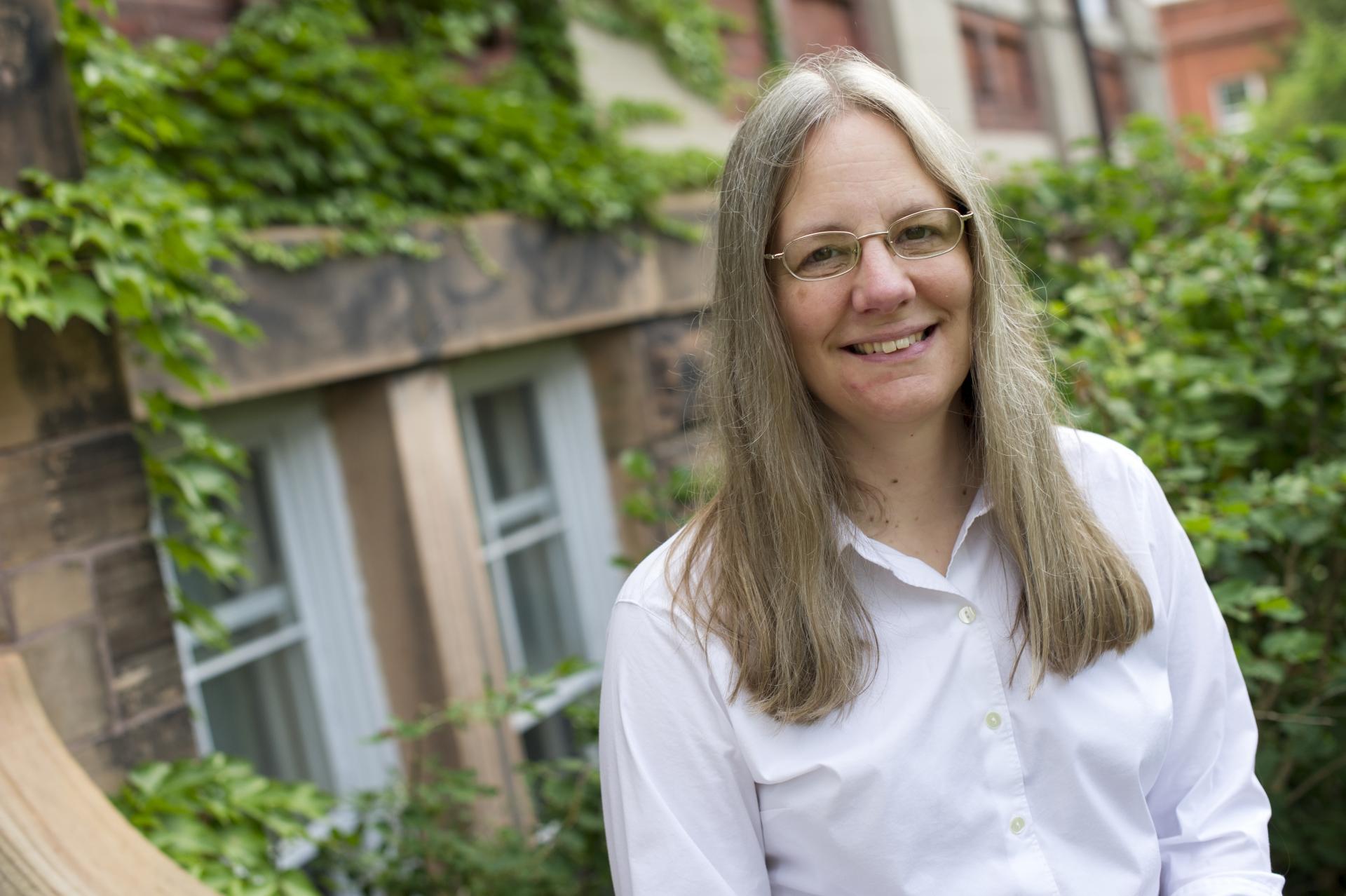 Laura Rediehs, associate professor of philosophy