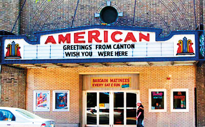 The American Theater in Canton, NY.