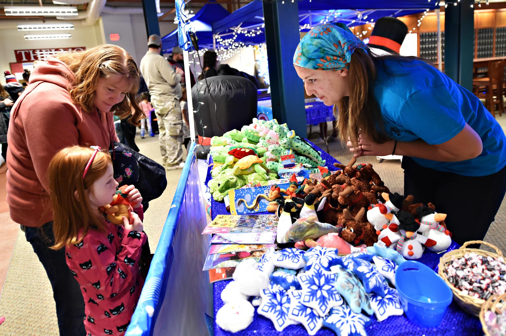 Winter Weekend featured, among other things, a carnival for local kids.