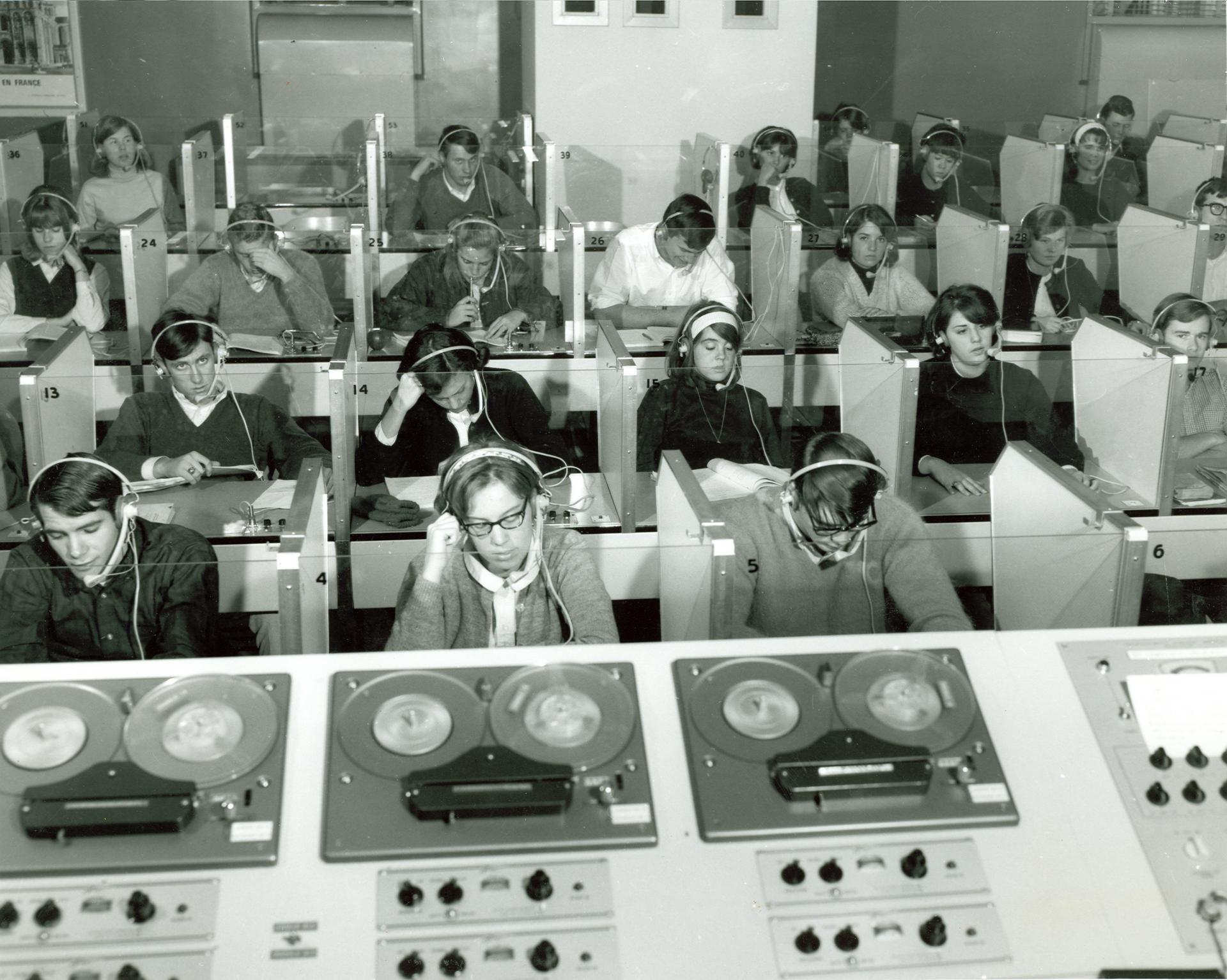 Language Lab circa 1965