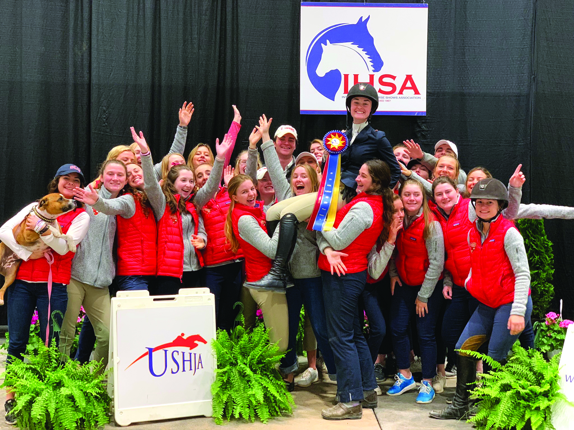 864c86e6 Doocy Wins IHSA Sportsmanship Award | St. Lawrence University Magazine